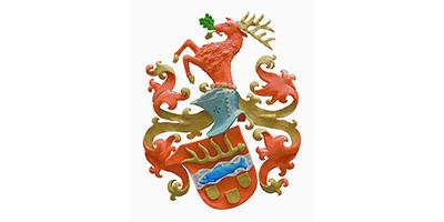 Edelsteingravuren Wappenlogo